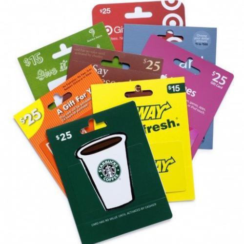 電子禮品卡 Gift Cards